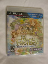 Rune Factory: Tides of Destiny PS3 (PlayStation 3) Brand New, Sealed~