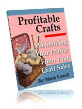 Maximize Your Craft Sales Profits With Proven Methods And Techniques (CD-ROM)