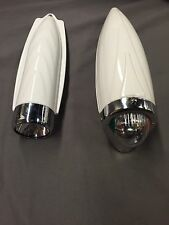 Schwinn columbia bicycle headlight  LOT of 2 fits elgin and cruiser bicycles