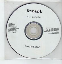 (GS302) Strapt, Hard To Follow - DJ CD + DVD