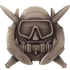 USA Army Badge Special Operation Diver Regulation Size,Oxidized (Made in USA)