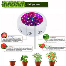 360W UFO LED Plant Grow Lights Lamp for Growing Hydro System Veg Full Spectrum