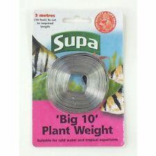 Supa 'Big 10' Aquarium Fish Tank Plant Weight 10ft Lead Strip