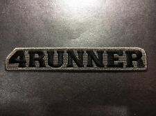 """Toyota 4Runner SR5 Off-Road 4 X 4 HighQuality Embroidered Patch 5.75"""" X 1"""" Gray"""