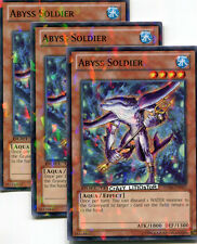 3  X YU-GI-OH ABYSS SOLDIER DUEL TERMINAL COMMON MINT DT06-EN065
