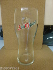 SAN MIGUEL  PINT  GLASS USED  (  got 9 )
