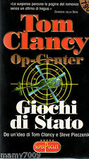 LIBRO=OP-CENTER GIOCHI DI STATO=TOM CLANCY=SUPERPOCKET 1999