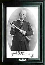 PHOTO MAGNET Firearms JOHN M BROWNING 1855 -1926 Founder Browning Arms Company