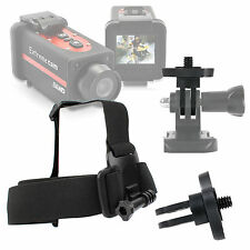 Anti-Slip Replacement Head/Helmet Strap Mount For Crocolis HD Action Cam