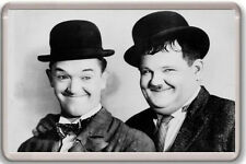 LAUREL AND HARDY FRIDGE MAGNET IMAN NEVERA