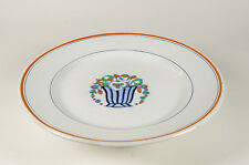 An Art Deco Charles Catteau Boch Freres pedestal cake dish