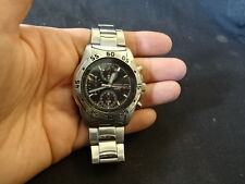 Seiko 7T62 Stainless Steel Men's Wristwatch Watch Jewelry Time