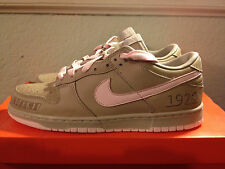 """**VERY RARE** Nike Dunk Low EX ID """"World Hoops Pack"""" Pink Ice - Size 10.5 - NIB"""