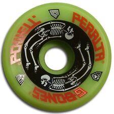 NOS Powell Peralta G BONES Skateboard Wheels 64mm 93a GREEN
