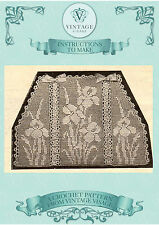 Vintage downton abbey era crochet pattern for iris tea cosy,cozy-free UK postage