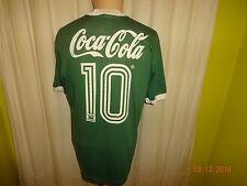 """Palmeiras São Paulo Adidas Matchworn Trikot 1989/90 """"Coca Cola"""" + Nr.10 Gr.L"""