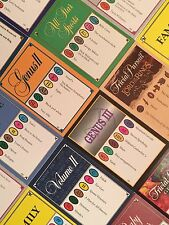 1000 TRIVIAL PURSUIT CARDS (15+ Editions - YOU PICK) 10 Different 100-Card Decks