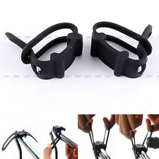 New Trendy Bike Bicycle Elastic Silicone Strap Mount Holder for Light Phone Hot