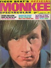 TIGER BEAT'S OFFICIAL MONKEE SPECTACULAR #4 magazine from 1967