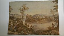 Antique French Gogelin Tapestry  Landscape in Northern ITALY