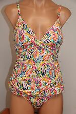 NWT Ralph Lauren Swimwear Tankini 2pc Set Size 12 Halter Top MLT