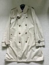 Paul Smith LONDON COLLECTION Trench / Rain Coat / Mac Size XL Pit to Pit 24""