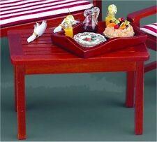 Table de jardin décoré ~ superbe l'échelle 1/12 miniature par reutter porzellan!!