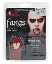 Vampire Teeth Vampire Fangs Caps With dental Putty Halloween Fancy Dress Costume