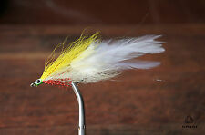 Deciever Minnow Clouser fly pattern - Sea bass, pike, perch, zander