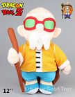 "NEW 12"" DRAGONBALL Z DBZ MASTER ROSHI PLUSH DOLL TOY ACTION FIGURE GOKU"