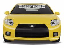 Decepticon Windshield Banner Vinyl Decal Sticker