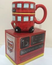 London Red Bus 3D Ceramic Mug British Souvenir Gift
