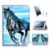 iPad Mini Gen 1 2 3 Flip Wallet Case Cover! P2209 Horse