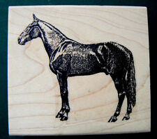 "Speed Horse rubber stamp WM 2.5x2.4"" P16"