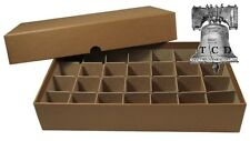 Half Dollar Coin Tube Storage Box 30.6mm Holds 28 Tubes Heavy Duty GUARDHOUSE #1