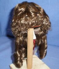 "doll wig brown 10"" to 10.5"" Wancke ringlets"