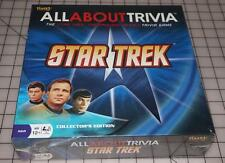 Star Trek All About Trivia Board Game Fundex Games Factory Sealed NEW