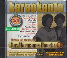Las Hermanas Huerta Pistas Musicales & Karaoke New Nuevo sealed
