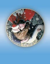 SUPERMAN & LOIS LANE HOLIDAY 2004 DC Gallery Collector's Plate~Alex Ross~NIB