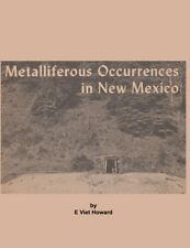 Metalliferous Occurences in New Mexico Mining Geology