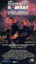 jeff wincott  MARTIAL LAW 2 UNDERCOVER cynthia rothrock     VHS VIDEOTAPE