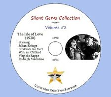 """DVD """"The Isle of Love"""" (1920) a.k.a. An Adventuress, Rudolph Valentino, Silent"""