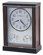 635-184 ASTON- HOWARD MILLER   MANTEL CLOCK  IN MACASSAR EBONY FINISH