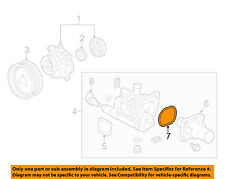 GM OEM-Engine Water Pump Gasket 25189205