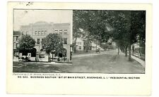 Riverhead LI NY-BIT OF MAIN STREET-BUSINESS SECTION-RESIDENTIAL SECTION-Postcard