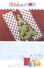 CHRISTMAS TREE MUG RUG LASER CUT APPLIQUE KIT, From Stitches of Love Quilting