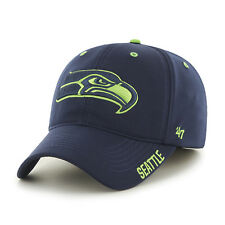 Seattle Seahawks '47 Brand Navy Stretch Fit Ronin Game Time Closer Hat