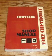 1982 Chevrolet Corvette Service Shop Manual 82 Chevy