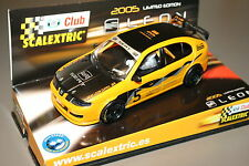 Slot SCX Scalextric 6169 Seat Leon Cupra - Club Scalextric 2005 - New