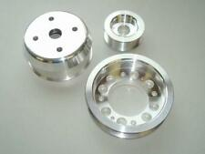 Banzai Racing Single Belt Pulley Kit 93+ RX-7 FD3S Polished Aluminum